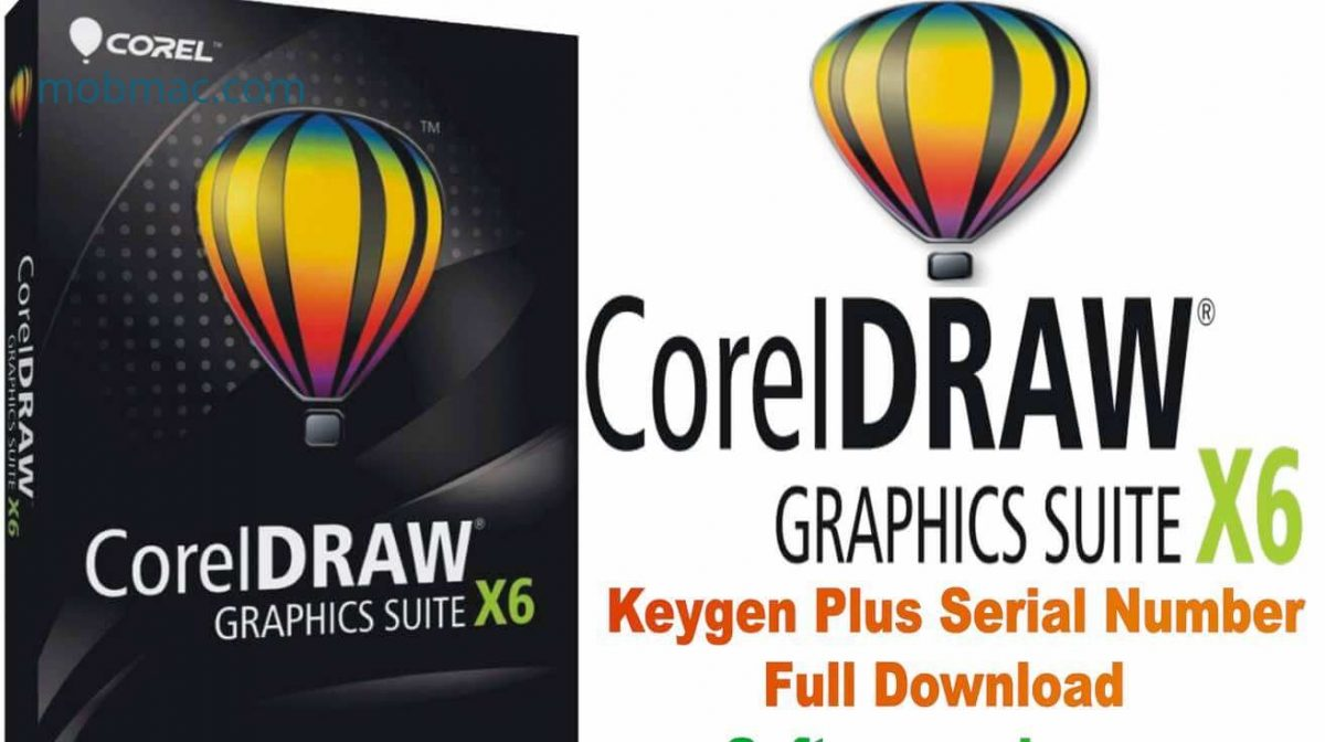 CorelDraw Graphics Suite x6 Crack cover